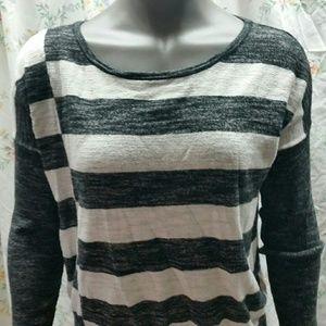 🔴LOFT Striped Sweater Large Womens